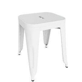 Marais Stool 18 in. - White