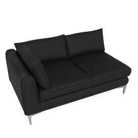 Albert One Arm Sofa Right - Sierra