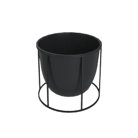 Wire Planter Small, Black