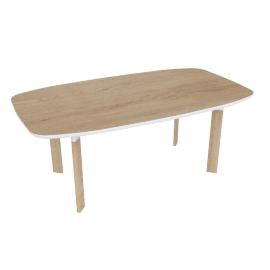 Analog Dining Table, Oak