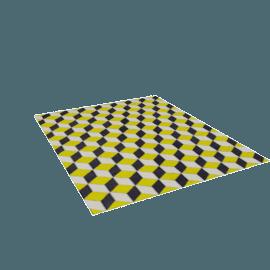 Ravello Flatweave-9' x 11' - Yellow.Brown