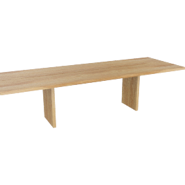 Gather Table 116'', Oak