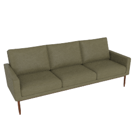 Raleigh Sofa - Olive Leather