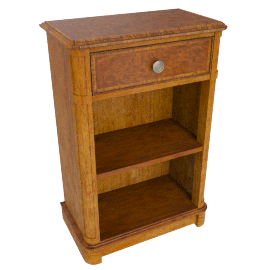 Hemingway Open Cupboard With Drawer