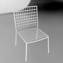 Emu Veranda Garden Dining Chair, White