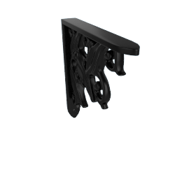 Wall Bracket Lily, Black