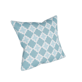 Outdoor Throw Cushion Cover, Blue