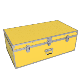 Fortified Hand Trunk, Yellow