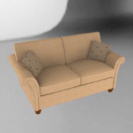 Indiana Medium Sofa, Beige