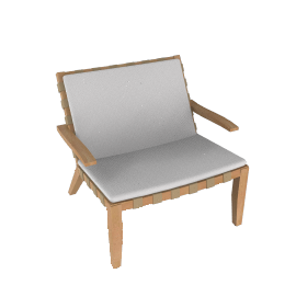 Rusa Lounge Chair - Teak