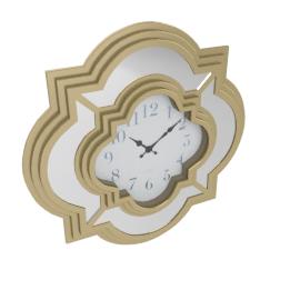Kokkola Wall Clock - 50.8x5.2 X50.8 cms