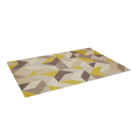 Holm Rug, 240x170, Putty/Citrine