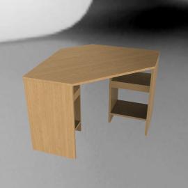 John Lewis Abacus Corner DeskOak
