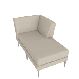 Libre Chaise Component - Ultrasuede®
