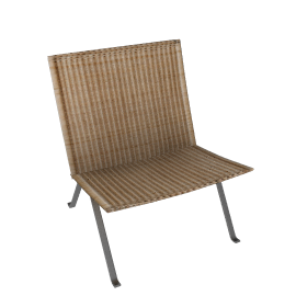 PK22 Easy Chair - Wicker