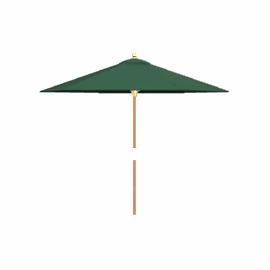 Tilting Market Parasol, Green