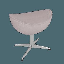 Egg™ Footstool - Tonus Fabric - Concrete