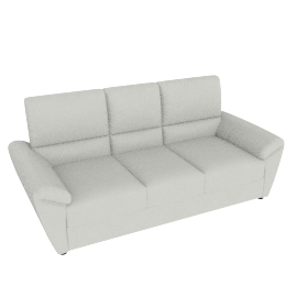 Cannes H/L 3 Seater, Beige