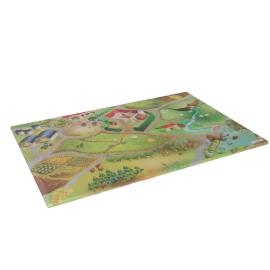 At the Farm Playmat - 100x150 cms, Multicolour