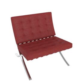Barcelona Chair, Kilim