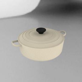 Le Creuset Oval Casserole, Almond, 29cm
