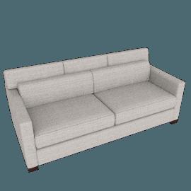 Vesper Queen Sleeper Sofa, Pebble Weave - Buff
