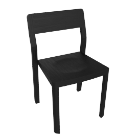 Note Chair, Black
