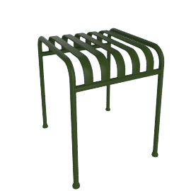 Palissade Side Table, Green