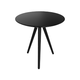 Circoe Side Table, Black