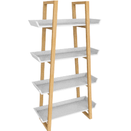 Airframe Tall Bookcase, White