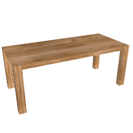 Saxony Dining Table, 200cm