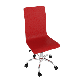 Madison Desk Chair, Red