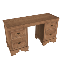 Oak Provencal Dressing Table