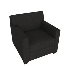 Vesper Armchair, Maharam Mode Fabric, Terra