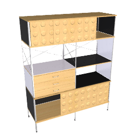 Eames® Storage Unit - 4x2