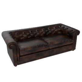Stanford Grand Sofa, Hand Antique
