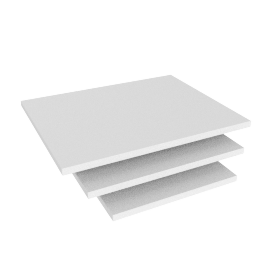 Blend Nest of Table Top, White