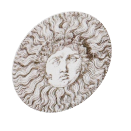 sun king plate by fornasetti