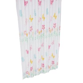 Butterfly Garden Shower Curtain - 240x180 cms
