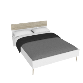 DELTA BED 140X190 by tvilum