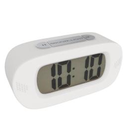 Lucas Table Clock, White