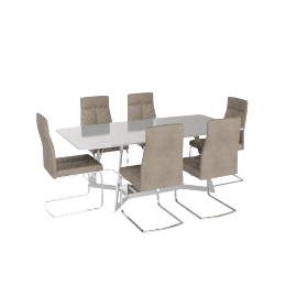 Turin 6-seater Dining Set
