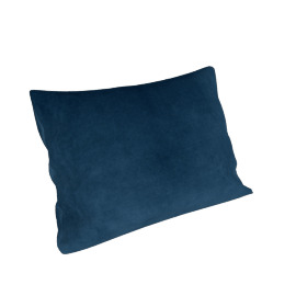 Maharam Pillow in Cotton Velvet , Resolute, 18 x 26