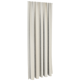Clarina Jq Curtain Pair 130X240Cm Cream