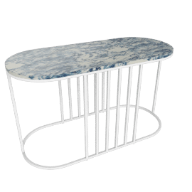 Posea Side Table, Resin