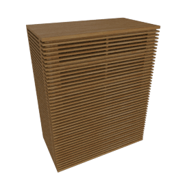 Line Tall Dresser, Oak