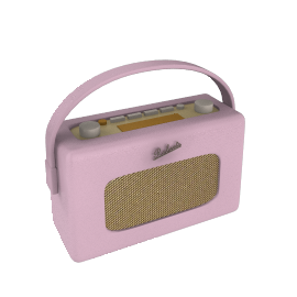 ROBERTS Revival DAB Digital Radio, Pink
