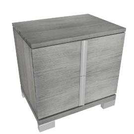 Siena 2-Drawer Night Stand