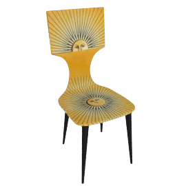 sole chair by fornasetti