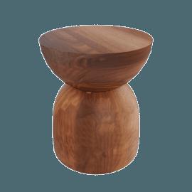 Hew Side Table, Shape B, Walnut